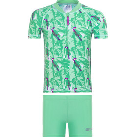 Regatta Wader UV Shirt Kids ice green/pale jade